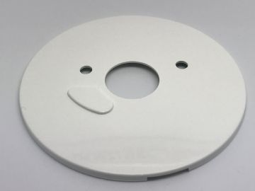 GPO White Plain Dial Telephone Back Plate